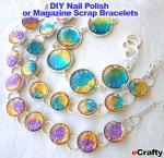 """www.eCrafty.com: We stock larger 5-frame (3/4"""") and smaller 10-frame (1/2"""") bracelet kits."""