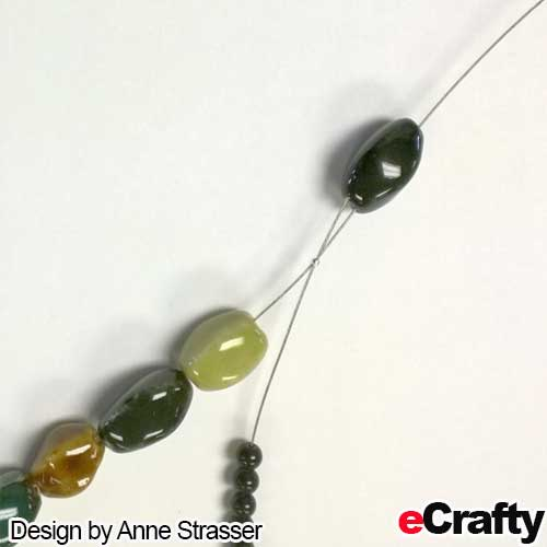 Twisted bead tutorial from eCrafty.com
